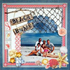 Beach Bums - Graphic 45 - By the Sea Collection