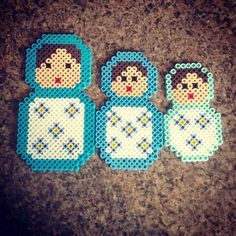 hama beads matrushk