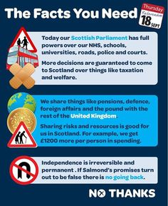 Another facts graphic to share with your friends. What powers does the Scottish Parliament already have? What powers are coming? And how do we benefit from the things we share with the rest of the UK? We can have the best of both worlds.