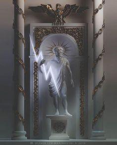 Tableau Pop Art, Greek Mythology Art, Greek Gods And Goddesses, Glitch Art, Greek Art, Mythological Creatures, Renaissance Art, Aesthetic Art, Deities