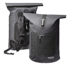 Products we like / backpack / Black / Rugged / Sea Line / Waterproof / outdoor gear / at Design Binge