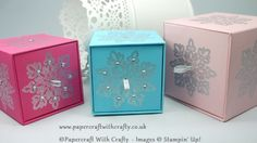 Cubed Gift Box with Drawer Opening http://www.papercraftwithcrafty.co.uk/2015/10/cute-ice-cube-box-with-pull-out-drawer.html