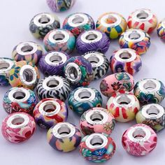 Polymer Clay Assorted Euro Beads with Bonuses. Starting at $5 on Tophatter.com!Euro Bracelet Supplies No.58 March 7, 8pm EST