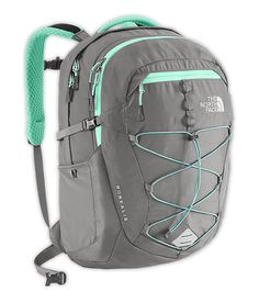 $89.99 women's mint green and grey book bag, recommended for ages 10+ though. If it's too big or too small, just adjust the straps!