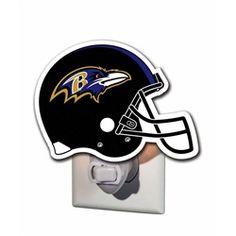 Baltimore Ravens Helmet Night Light