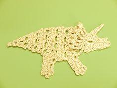 久しぶりにモチーフを作ってみました。以前、ティラノサウルスのモチーフを作りましたが、他にも色んな恐竜を作って欲しいとのご依頼を受けました。参考にした資料は...