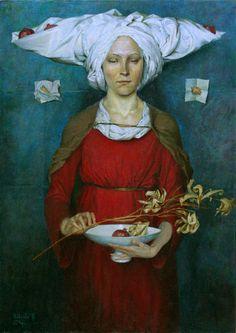 The lily & the pomegranates... the story of peace & plenty.