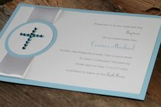 homemade invitations-baptism-boy1