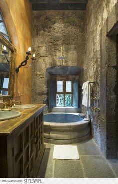 la bañera es una fuente!