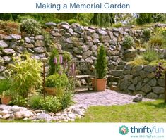 this guide is about making a memorial garden create a special garden in remembrance of