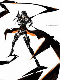 Tatsumaki Afi wrb by arsenixc on DeviantArt Manga Art, Anime Art, Apocalypse Fashion, Character Inspiration, Character Ideas, Character Art, Warrior Girl, Girls Frontline, Character Design Animation
