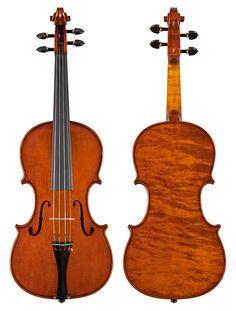 "New violin made Roberto Delfanti violinmaker Cremona Mod. Antonio Stradivari ""Betts"" 1704"