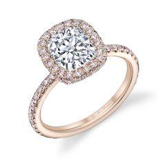 66 Best Rose Gold Engagement Rings La Vie En Rose Images Wedding