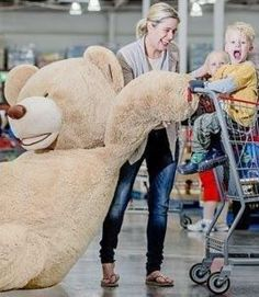 REALLY BIG GIFT IDEA: We Totally Want One of These Giant Costco Teddy Bears...