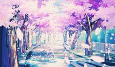 beautiful anime scenery - Google Search