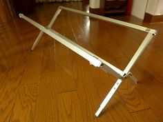 アルミ脚ロールトップテーブル : チビ猫テンコの生き方