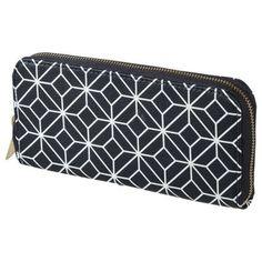 Merona® Zip Around Wallet - Navy
