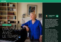Antonine Maillet : dialogue avec le temps - La Presse+ Grand Piano, Walk In