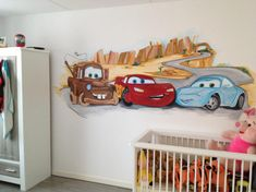 muurschildering Cars - Google Search