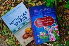 Boa Noite! Hoje, 9 de Outubro no #BookishoctoberBR.▫*CAPAS COM FLORES*▫Apesar de achar capas com flores lindas, não tenho muitos livros com flores na capa, 😕.▫🔼No Seu Olhar, de @NicholasSparks - lançado pela @editoraarqueiro.🔼Quando o amor bater à sua porta, de @samanta.holtz - lançado pela @editoraarqueiro.