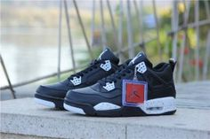 cheap price only need 63$,press the picture learn more about Air Jordan 4 Oreo Black Shoes