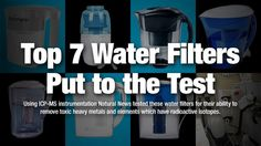 http://www.phomz.com/category/Zero-Water-Filter/ 7 most popular countertop water filters tested for removal of heavy metals and radioactive elements – NaturalNews.com