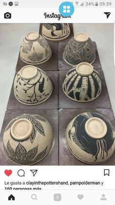Inexpensive, elegant and versatile, pottery is a worthwhile addition to your home, and you should definitely consider getting some for your interior design project. Pottery is used to decorate diff… Ceramic Decor, Ceramic Design, Ceramic Clay, Ceramic Bowls, Pottery Plates, Ceramic Pottery, Pottery Art, Ceramic Techniques, Pottery Techniques