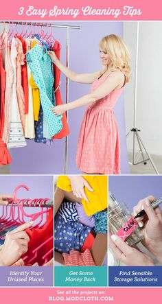 How to easily clean out your closet, and donate to a cause!