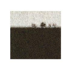 "Philip Sanderson: ""Nr. Ruckcroft"" 2006, 30 x 30cm wool weft cotton warp, private collection"