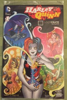 Harley Quinn Lootcrate comicbook New in Package DC Comics 1 Loot Crate Comics | eBay