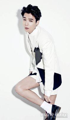 Jung Kyung Ho Marie Claire Korea Magazine November Issue '13