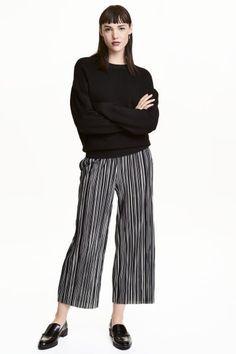 Geplisseerde broek | H&M
