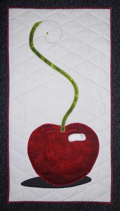 bling cherri, cherry quilts, bing cherri, cherri quilt, art quilt