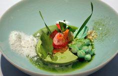 Sergio Herman - Green apple, wheat grass, aloe vera