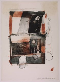 Robert Rauschenberg - Night Grip, Lithograph on paper Robert Rauschenberg, Collages, Pop Art, Painting Collage, Collage Art, Paintings, Camille Pissarro, Joan Mitchell, James Rosenquist