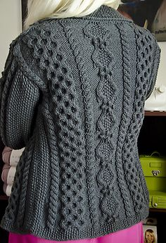 Ravelry: Ruth pattern by Donna Druchunas frree cardigan aran