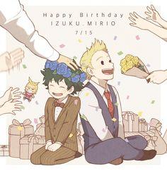 Boku no Hero Academia || Midoriya Izuku, Mirio Togata (Happy Birthday)