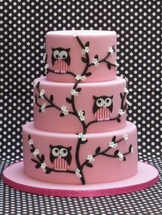 15 Most Amazing Owl Birthday Cakes