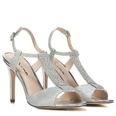 ae78be47f327 Touch of Nina Women s Cloee1 Dress Sandal at Famous Footwear 4 Inch Heels