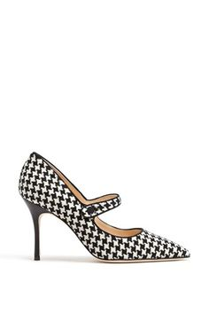 Houndstooth Manolos!!!
