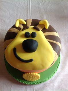Raa Raa children's birthday cake