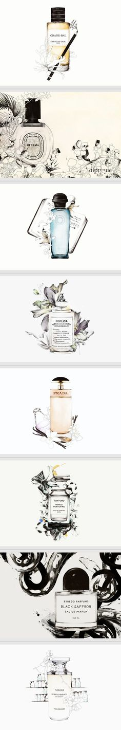 Scent Stories by Spiros Halaris | Illustration & packaging