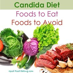 CLICK HERE to find a to read about the candida diet, foods allowed and foods to avoid.   http://goodfoodeating.com/3913/