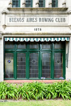 Buenos Aires Rowing Club in Tigre, Argentina // Via Stacie Flinner