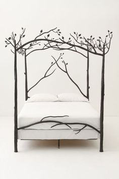 Forest Canopy Bed in BLACK- anthropologie.com