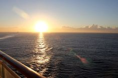 Sunset on board the MSC Sinfonia Msc Cruises, Walk To Remember, Travelling Tips, Cruise Tips, Beautiful Space, Places To Visit, Traditional, Sunset, Board