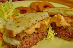 Bless Us O Lord...: Patty Melt Burgers