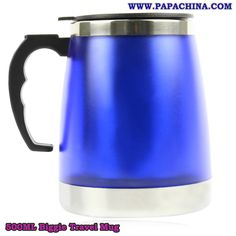 500ML Biggie Travel Mug Bulk #Wholesale Supplier from PapaChina with Cheap Prices. http://bit.ly/1K7C7Rz