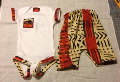 Nasir African Kente Print Onesie for boys by jdizaclothingco African Babies, African Children, Baby Girl Fashion, Kids Fashion, Babies Fashion, Hippie Baby Clothes, Babies Clothes, African Wear, African Dress