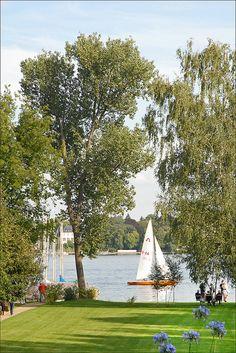 Grand lake, Wannsee, Berlin, Germany Immer am Sonntag hingegangen zur Dampferfahrt
